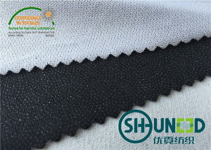 Circular knit Fusible Interlining Fabrics C5052QS For Sport Garments