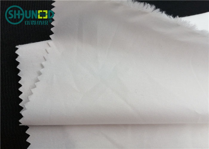 100% Cotton Garments Accessories Combed Down Proof Fabric Rolls Plain Dyed