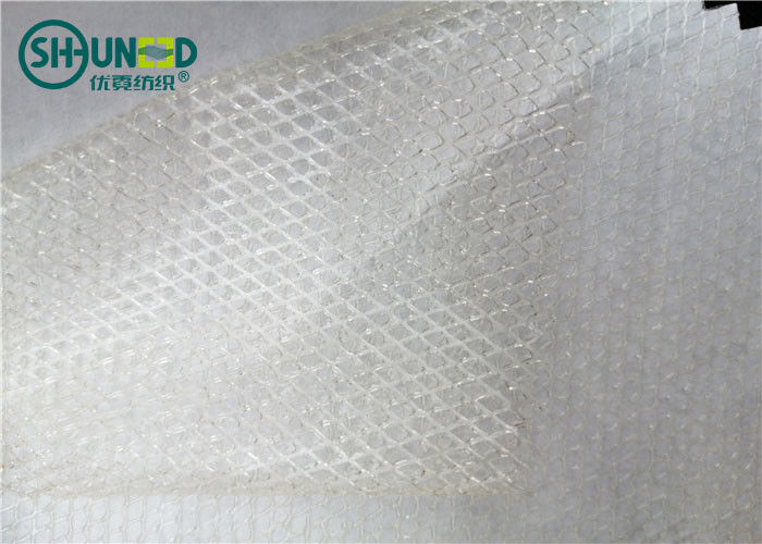Two Layers Adhesive PA Web Net with Non Woven Release Paper for Bonding Clothing Metal Clothing